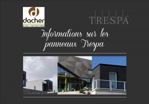 Informations sur les panneaux TRESPA - utilisation et entretien