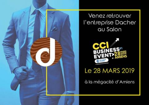 Participation au Salon CCI Business Event à la Mégacité d'Amiens - 28 MARS 2019