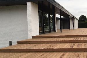 Terrasse bois exotique : Afrormosia
