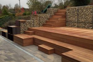 Terrasse bois exotique : Bangkirai