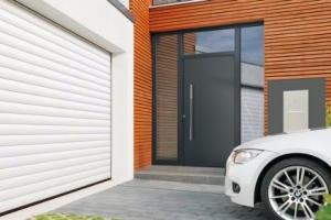 Porte de garage enroulable Hormann :