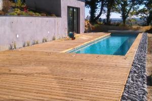Terrasse Pin traité classe 4