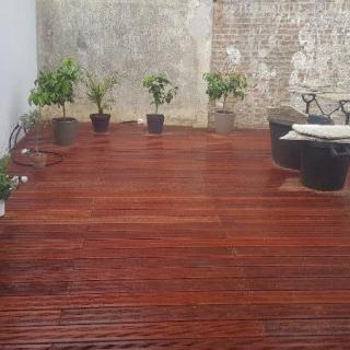 Terrasse bois exotique : Massaranduba