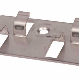 Clip inox d'aboutage pour terrasse composite silvadec