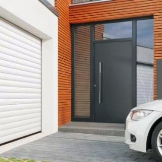 Porte de garage enroulable Hormann :