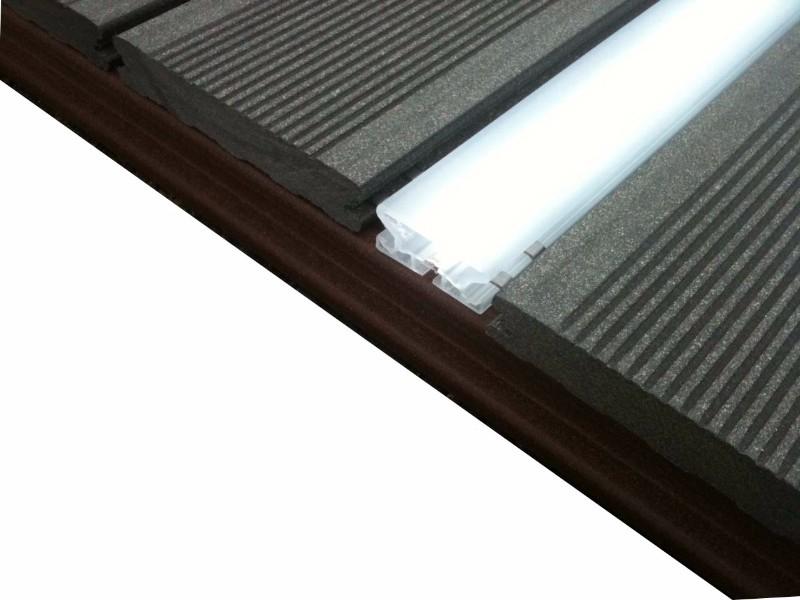 Led pour terrasse composite silvadec - Accessoires terrasse - Bois ...